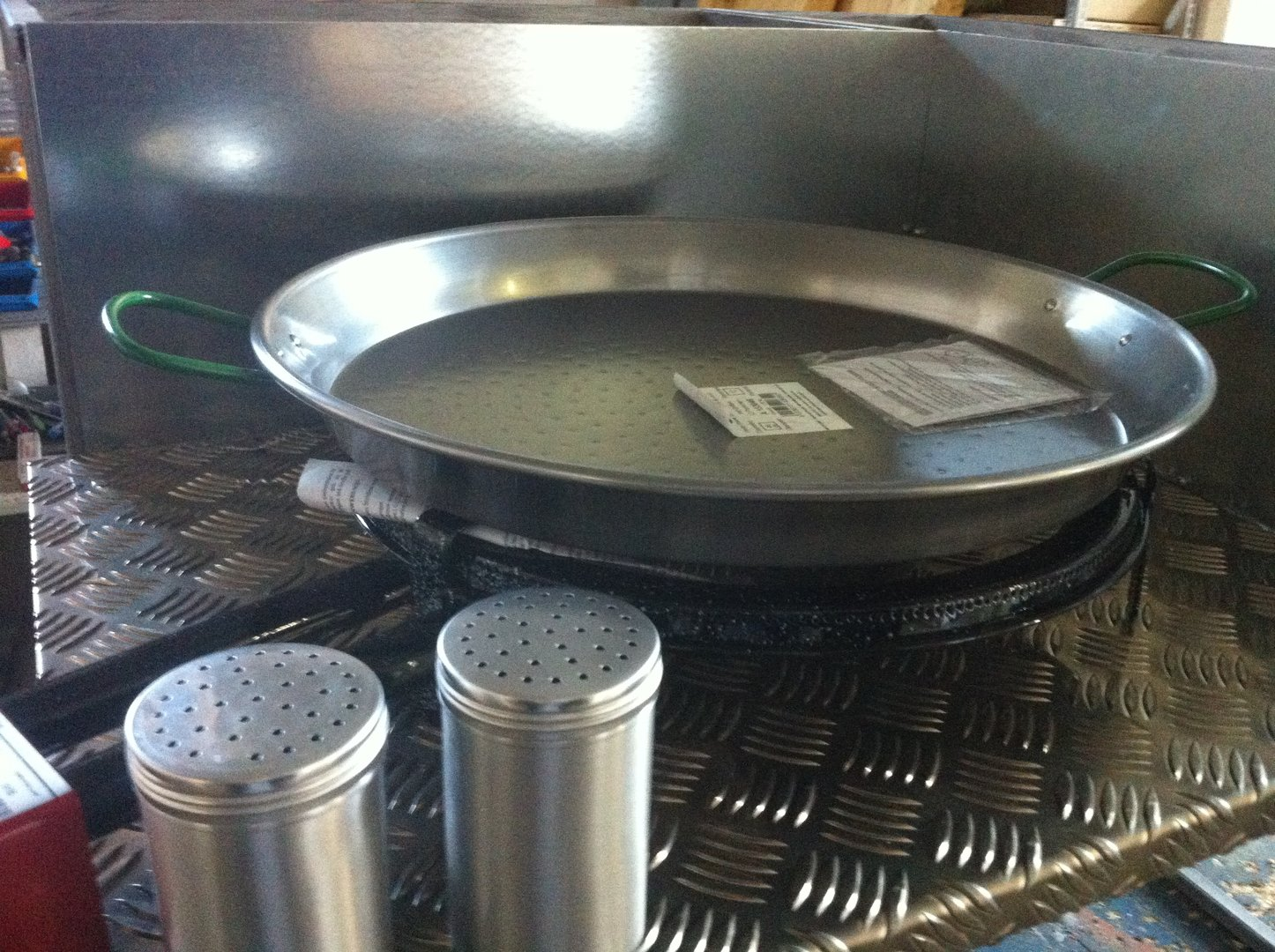paella pfanne pfanne kocher grill food. Black Bedroom Furniture Sets. Home Design Ideas